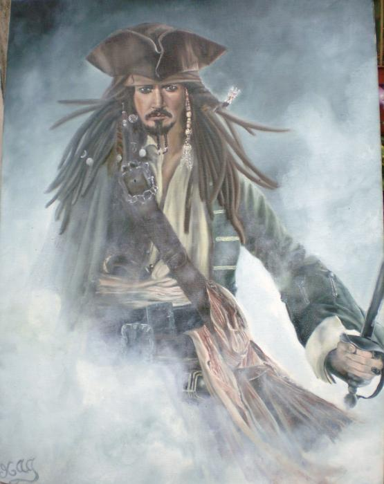 Johnny Depp por magalid